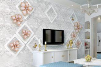 Salon Duvar Kağıt Modelleri 2019 Trendleri