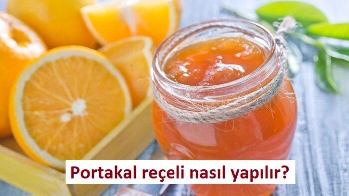 Portakal reçeli nasıl yapılır?