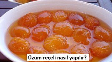 Üzüm reçeli nasıl yapılır?