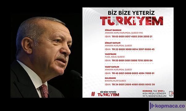 cumhurbaşkanı erdoğan milli dayanışma kampanyasına ne kadar bağışladı