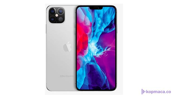 mükemmel iphone 12 konsepti