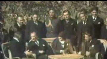 Mustafa Kemal Atatürk'e Ait Yeni Video Ortaya Çıktı