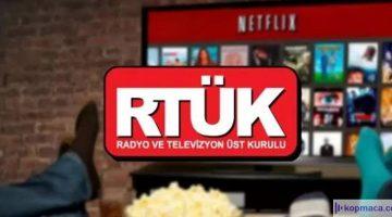 RTÜK Netflix için uyarı verdi!