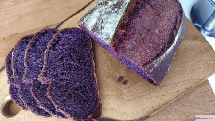 evde mor ekmek nasıl yapılır? malzemeleri nelerdir? mor ekmek nedir? i̇çinde neler var? mor ekmek nasıl ortaya çıktı? mormiks tozu nedir? mor ekmeğin faydaları nelerdir?