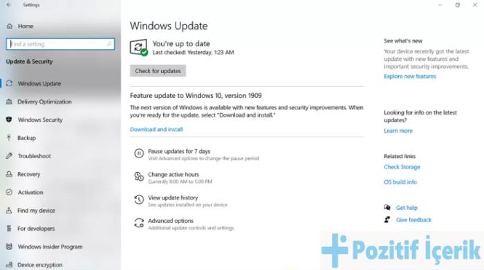 Windows 10 Güncellemeler Nasıl Duraklatılır