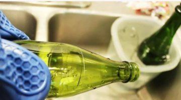 Cam şişe içi nasıl temizlenir?