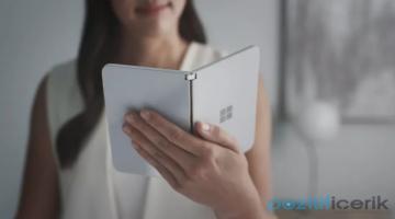 Microsoft Surface Duo 10 Eylül'de 1.399 Dolara Piyasaya Sürülecek