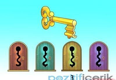 resimdeki anahtar sizce hangi kapıyı açıyor?