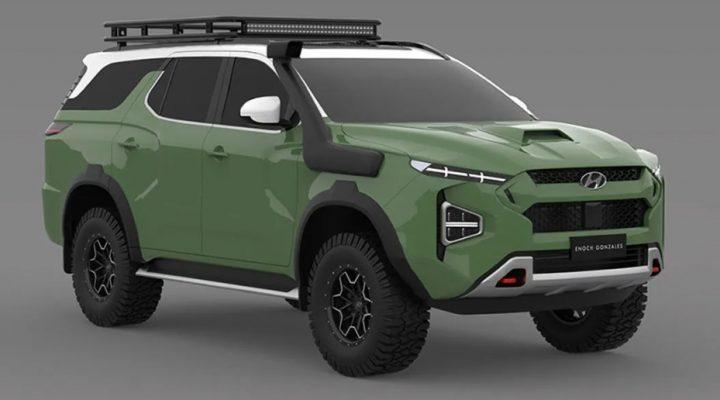 2022 Hyundai Terracan Sağlam Merdiven Çerçeveli Bir SUV Olacak