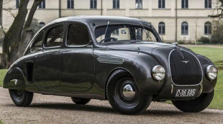 Dünyadaki Tek 1935 Model Skoda 935 Dynamic Modeli