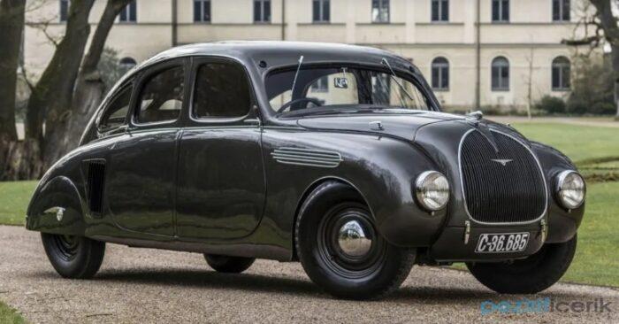 dünyadaki tek 1935 model skoda 935 dynamic
