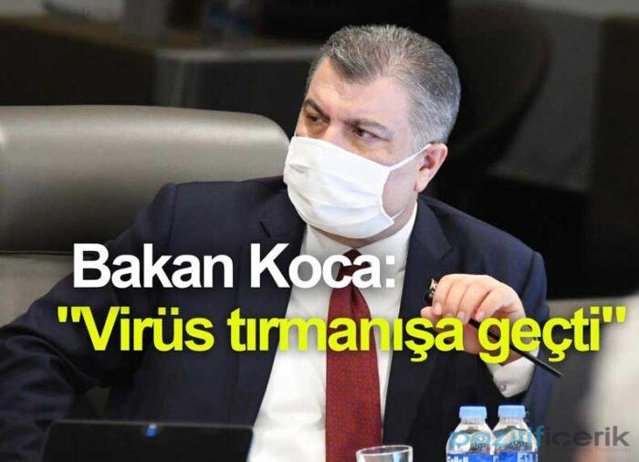 sağlık bakanı fahrettin koca korona virüs hakkında konuştu