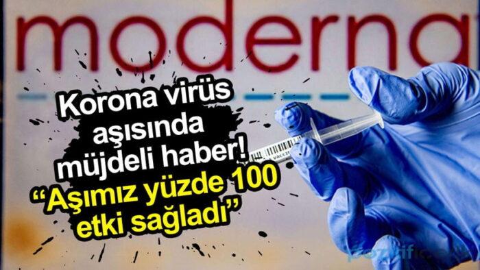 yüzde 100 etkili korona aşısı bulundu!