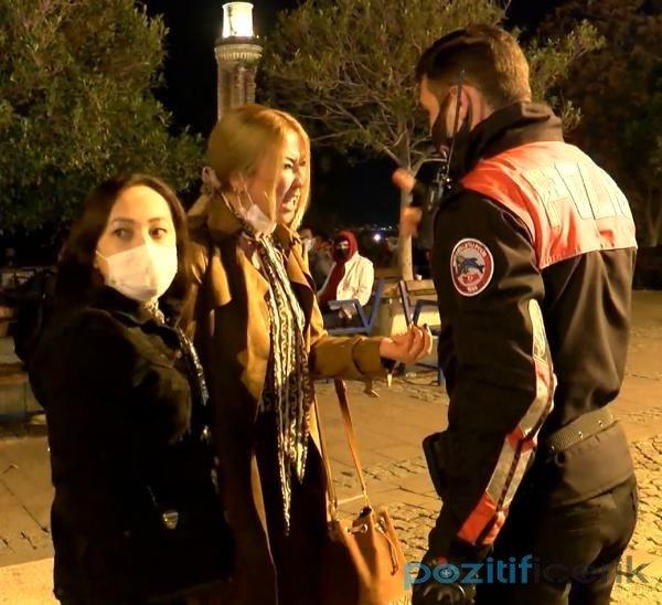 "sarhoş kadın turist ""bizi taciz etti"" deyip yaşlı adamı dövdü"
