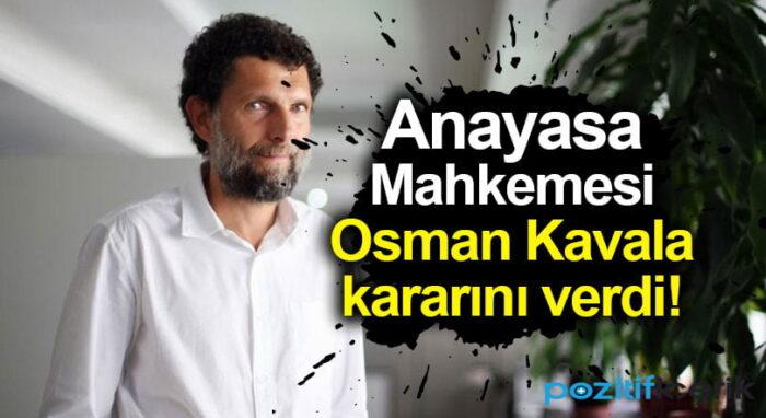 osman kavala hakkında karar verildi!