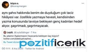hasan ali toptaş'ın taciz olayları twitter'da paylaşıldı!