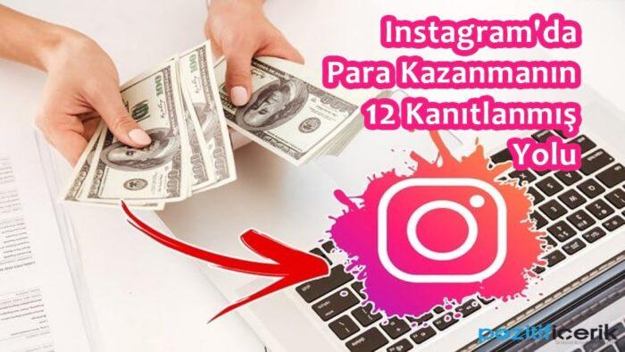 instagram'dan para kazanmanın 12 yolu