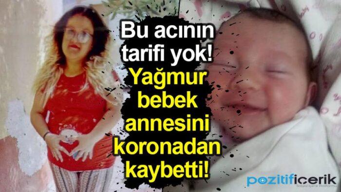 çocuğunu doğuran genç anne koronadan hayatını kaybetti!