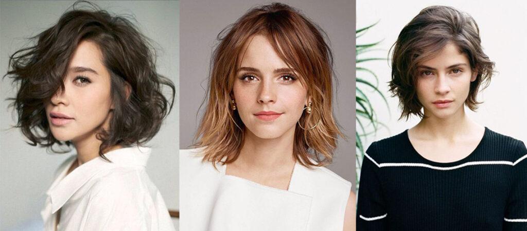 saçlarda sıcak tonlar - bob model saç tasarımları