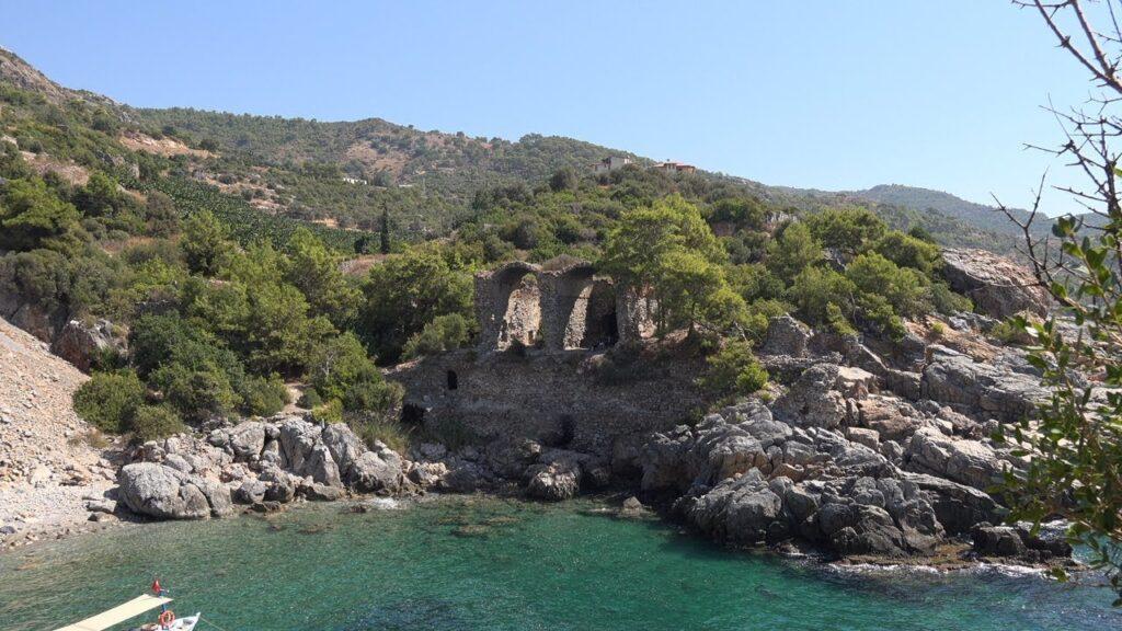alanya ücretsiz kamp alanları aytap antik kenti