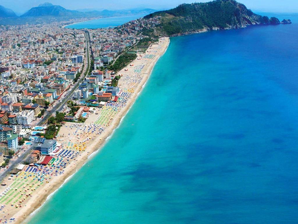 alanya ücretsiz kamp alanları kleopatra plajı