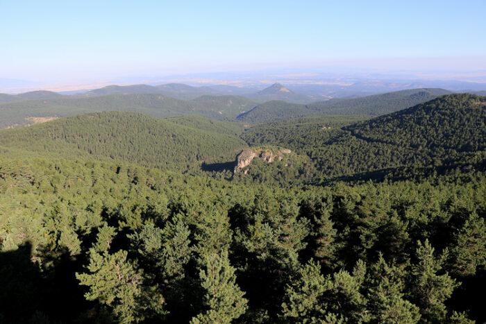 türkmen baba dağı çevresi ve yukarı kalabak köyü