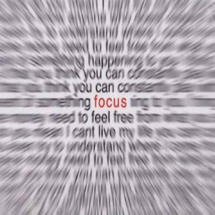 odaklanın yapabilirsiniz!