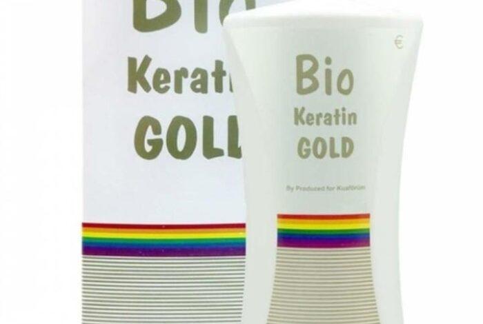 bio keratin gold saç bakım ürünü