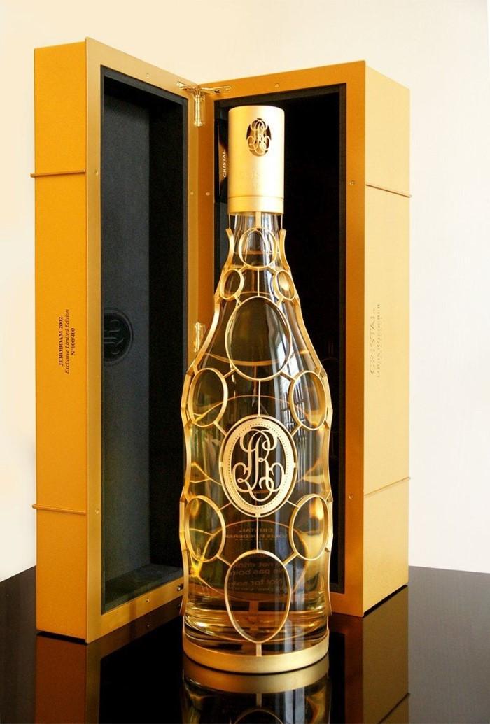 3. louis roederer cristal 'gold medalion' orfevres limited edition brut millesime