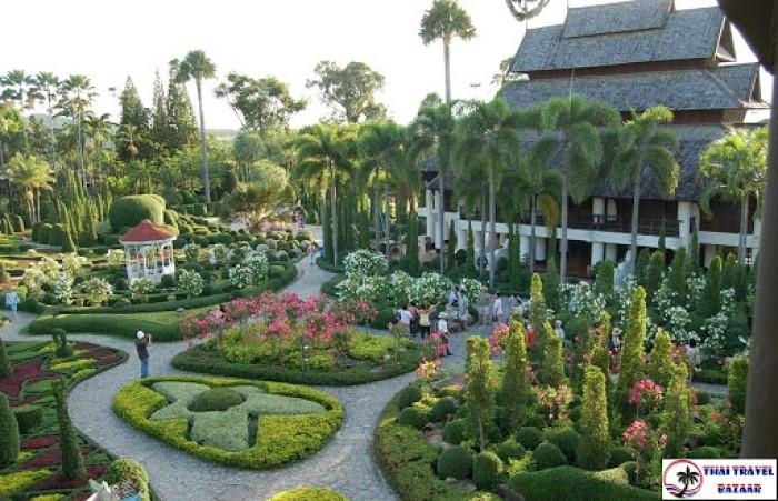 4. nong nooch tropikal botanik bahçesi, tayland