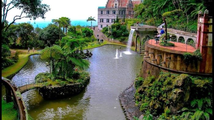 7. monte palace tropik bahçesi, portekiz