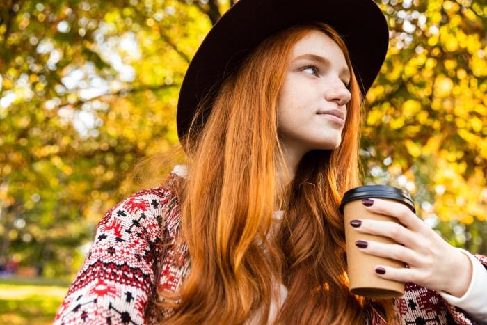 açık kızıl saç tonları