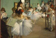 edgar degas'ın balerinleri