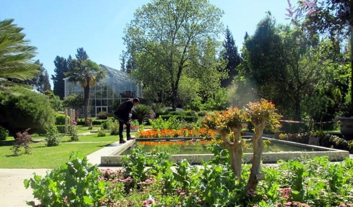 ege üniversitesi botanik bahçesi