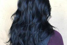 mavi siyah saç kimlere yakışır