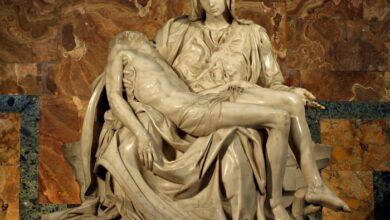 michelangelo'nun pieta heykeli