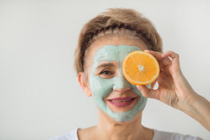 portakal ile hazırlanan cilt maskeleri