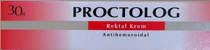 proctolog rektal krem nasıl kullanılır